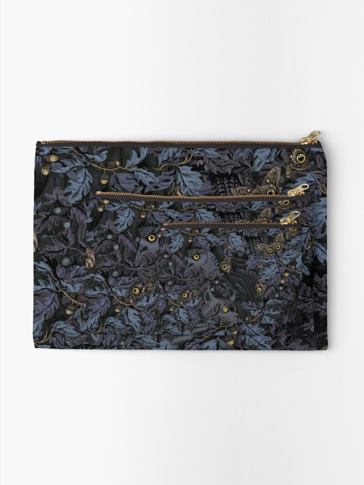Alternate view of Fit In (moonlight blue) Zipper Pouch