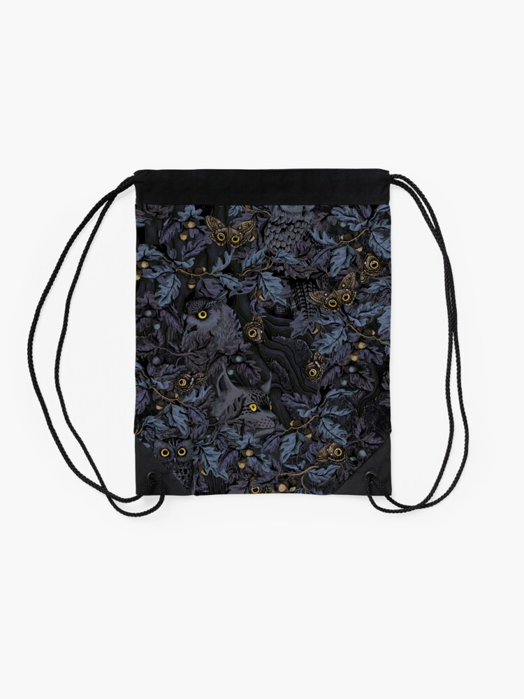 Alternate view of Fit In (moonlight blue) Drawstring Bag