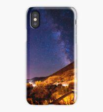 Milky way in the sky of Croatia iPhone Case/Skin