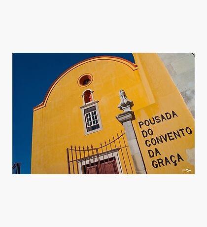 Pousada do Convento da Graca Photographic Print