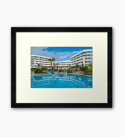 Alfagar's Pool Framed Print