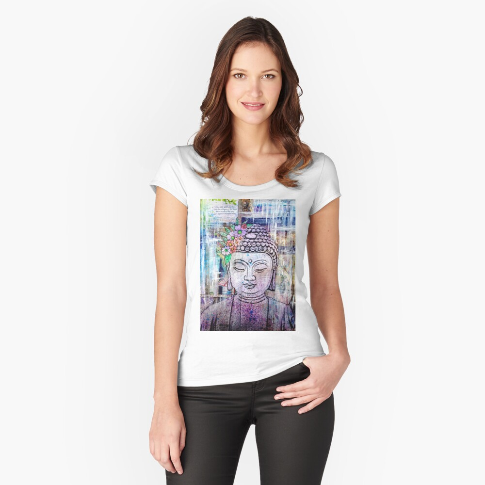 Namaste Fitted Scoop T-Shirt
