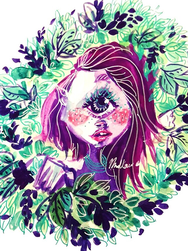 Eye in the Bushes by mallow-art