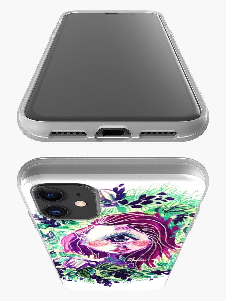 Alternate view of Eye in the Bushes iPhone Case & Cover