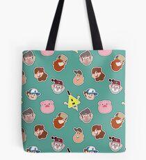 Gravity Falls Chibi Tiles Tote Bag