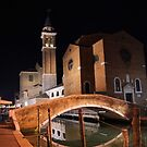 Night time - Chioggia by Francis Drake