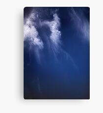 Clouds Over the Gulf of California, Mexico Satellite Image   Canvas Print