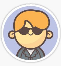 Mini Characters - Rick Astley Sticker