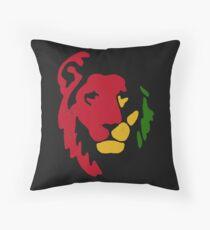 Lion Rasta Reggae Throw Pillow