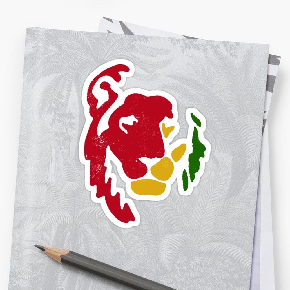 Lion rasta reggae par l h kooyong