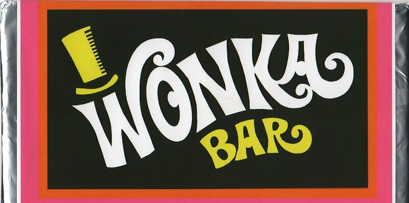 Willy Wonka Chocolate Bar t-shirt