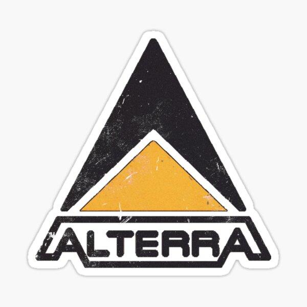 Alterra Comic Logo Sticker