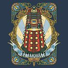 Dalek New-Nouveau by MareveDesign