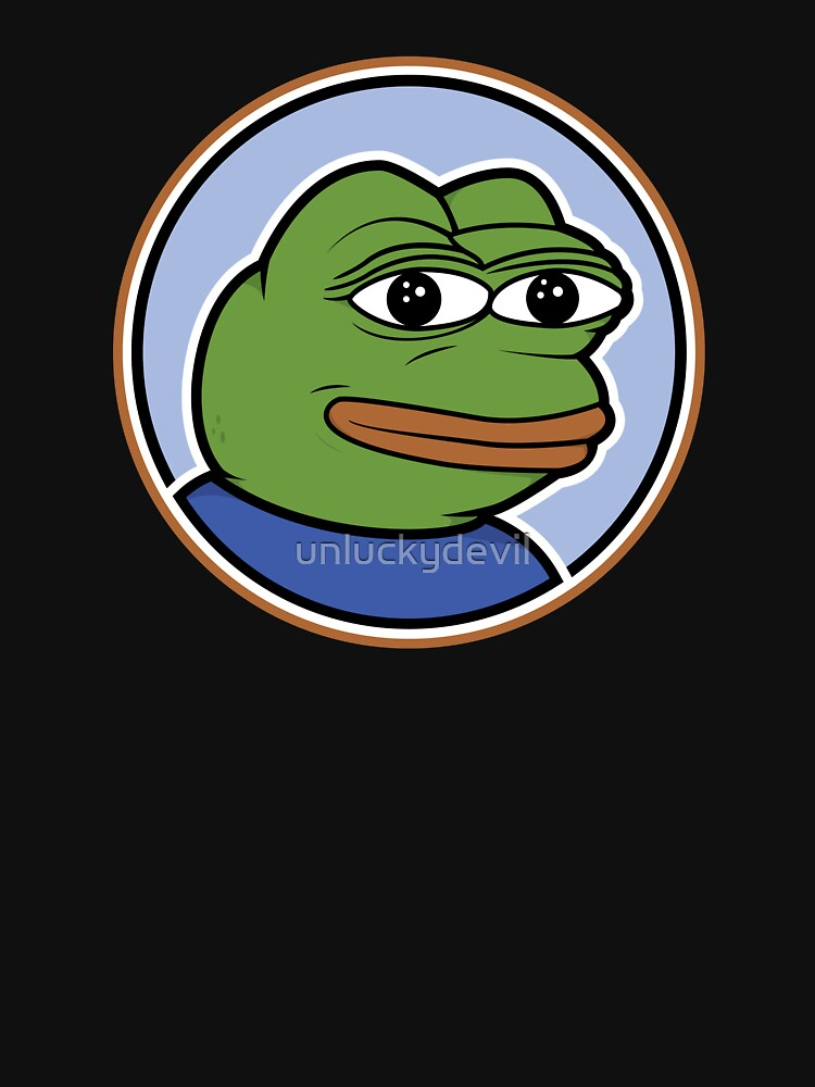 Pepe The Frog Meme T Shirt by unluckydevil