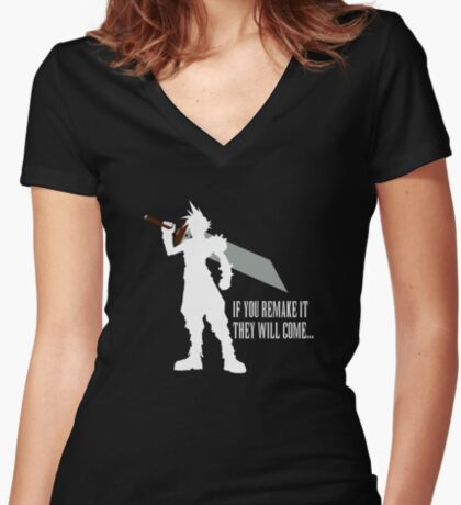 If you remake it... Fitted V-Neck T-Shirt