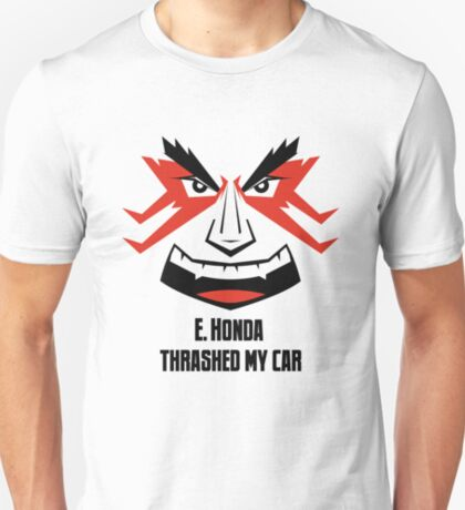 E. HONDA Thrashed My Car T-Shirt