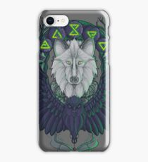 Raven and the Wolf iPhone Case/Skin