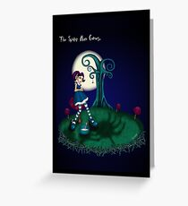 LITTLE MISS MUFFET - THE SPIDER MAN COMES Greeting Card