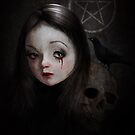 Witchcraft Print - Occultist by Tanya  Mayers
