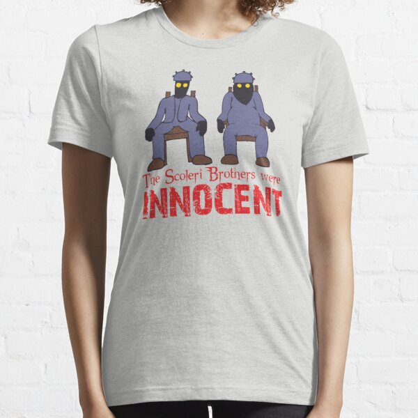 The Scoleri Brothers Were Innocent Essential T-Shirt