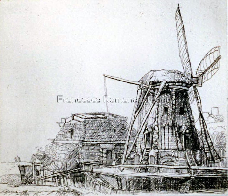 My Rembrandt's Mill by Francesca Romana Brogani