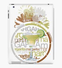 Margarita recipe iPad Case/Skin