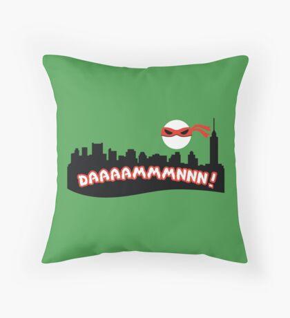 Daaammmnnn!!! Throw Pillow