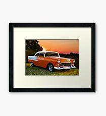 1955 Chevrolet Bel Air Hardtop Framed Print