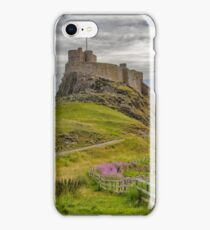 The Castle  Holy Island iPhone Case/Skin