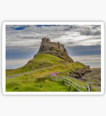 The Castle  Holy Island Sticker