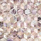 Blush Quartz Honeycomb by micklyn