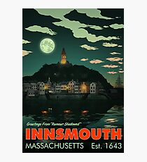 Greetings from Innsmouth, Mass Photographic Print