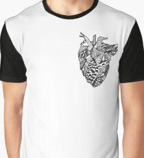 Geometric heart Graphic T-Shirt