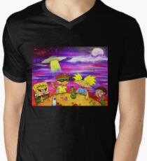 Nick At Night Men's V-Neck T-Shirt