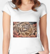 Mushroom HDR Women's Fitted Scoop T-Shirt