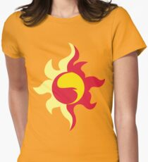 Sunset Shimmer Womens Fitted T-Shirt