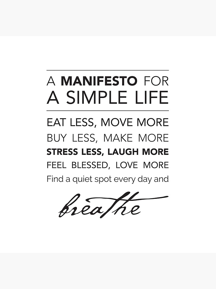 A Manifesto for a Simple Life {Pillows & Totes} by kellyexeter