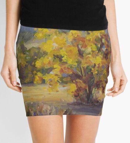 Shades of Autumn Mini Skirt