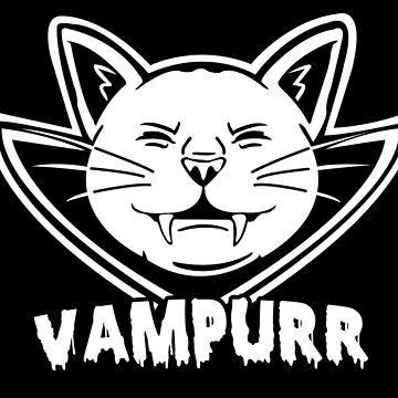 Cat vampire by badideatees