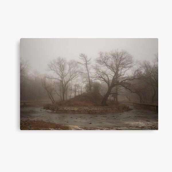Eerie Canvas Print