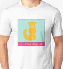 Jaguar Animal Alphabet Unisex T-Shirt