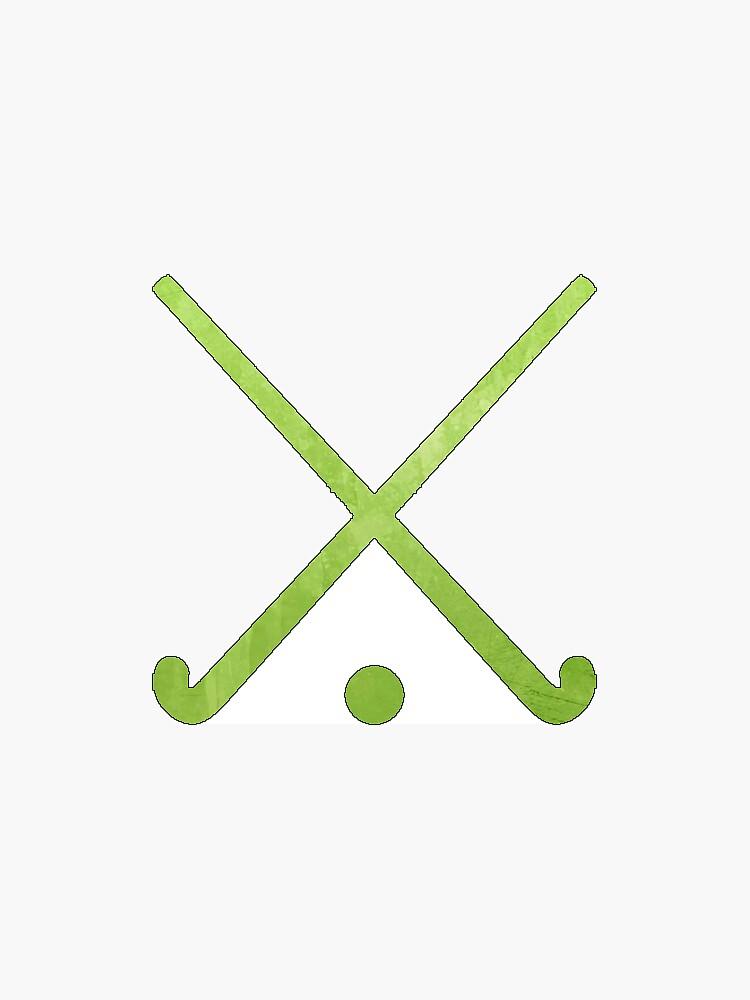 Feldhockey Grün von hcohen2000