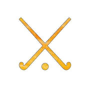 Feldhockey Orange von hcohen2000