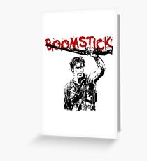 boomstick- evil dead Greeting Card