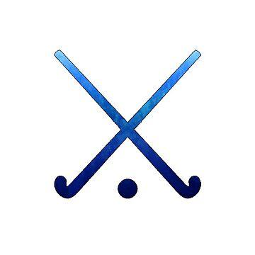 Feldhockey Dunkelblau von hcohen2000