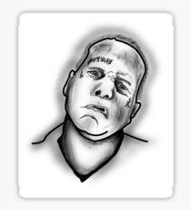 Jay Adams Headshot Sticker