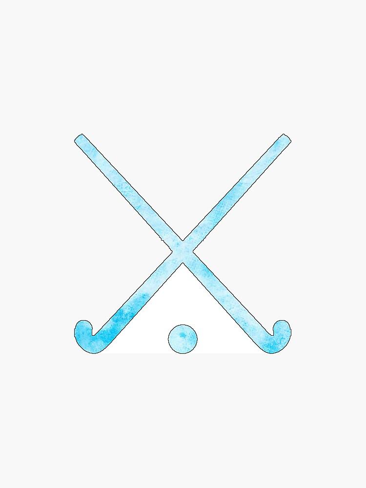 Feldhockey Hellblau von hcohen2000