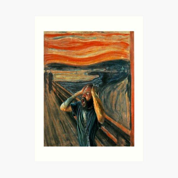 The Scream (Death Grips) Art Print