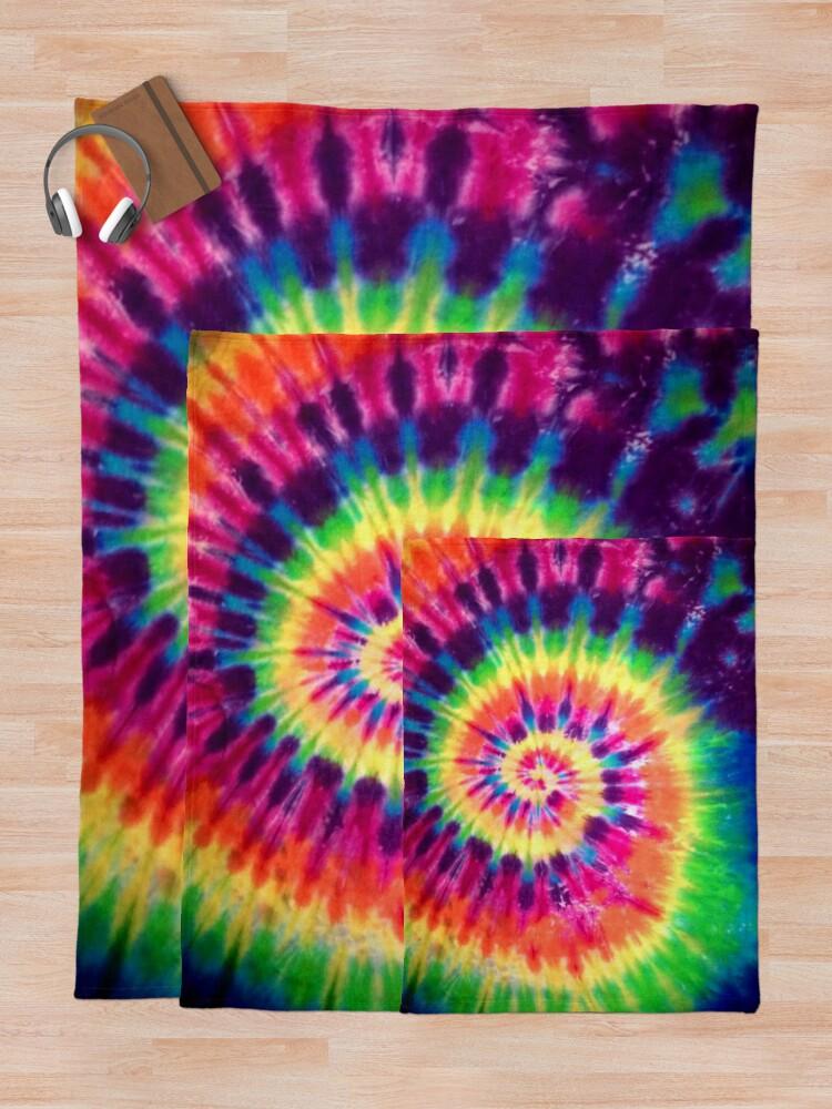 Alternate view of Tie Dye Throw Blanket
