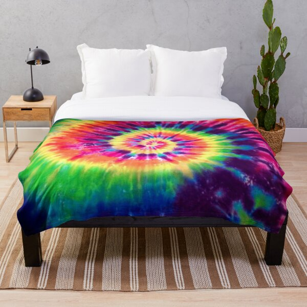 Tie Dye Throw Blanket
